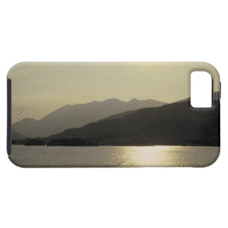 panoramic view of mountains and lake 2 case for the iPhone 5