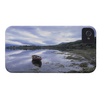 panoramic view of mountains and lake 3 iPhone 4 Case-Mate case