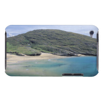 panoramic view of mountains and lake iPod touch case