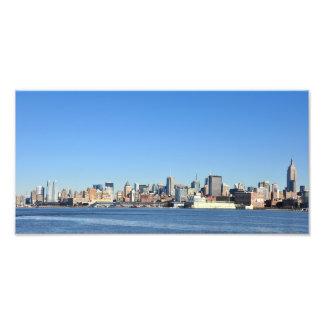 Panoramic View of New York City Photograph