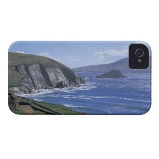 panoramic view of ocean waves crashing on a iPhone 4 case