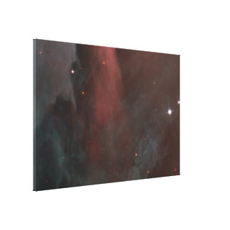 Panoramic View of Orion Nebula Reveals Canvas Print