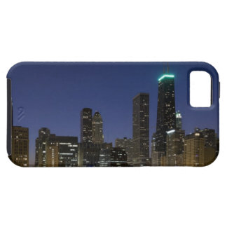 Panoramic view of the Chicago lakefront at dusk, iPhone 5 Cases