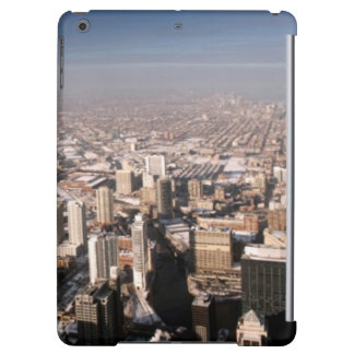 Panoramic view of the city case for iPad air