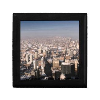 Panoramic view of the city gift box
