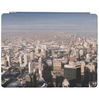 Panoramic view of the city iPad cover