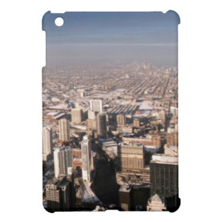 Panoramic view of the city iPad mini cover