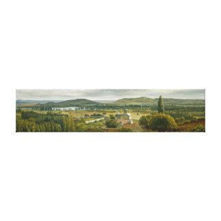 Panoramic View Of The Ile De France Canvas Print