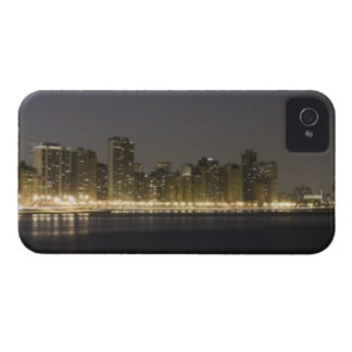 Panoramic view of the north side of Chicago at iPhone 4 Case-Mate Case