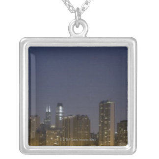 Panoramic view of the northern section of the 3 silver plated necklace