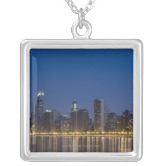 Panoramic view of the northern section of the 5 silver plated necklace