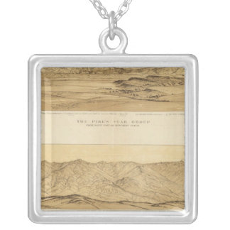 Panoramic Views of Colorado Silver Plated Necklace