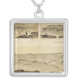 Panoramic Views Silver Plated Necklace