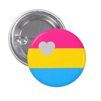 Panromantic Flag 3 Cm Round Badge