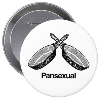 Pansexual - 10 cm round badge