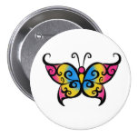 Pansexual Butterfly 7.5 Cm Round Badge