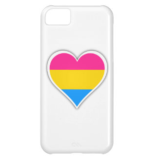 Pansexual flag heart iPhone 5C cover
