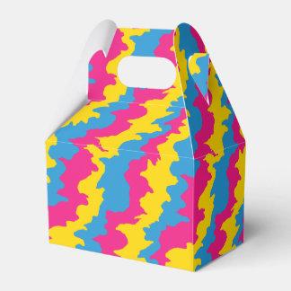 Pansexual Flag Patterns Favour Box