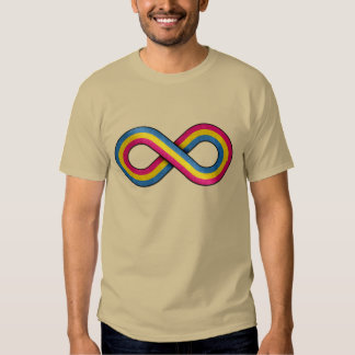Pansexual Infinity T Shirts