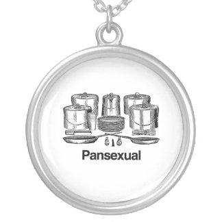 Pansexual Round Pendant Necklace