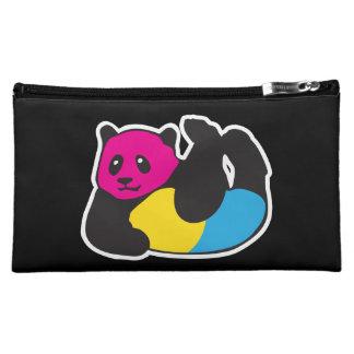Pansexual Panda LGBT Pride Makeup Bag