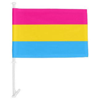 """PANSEXUAL PRIDE FLAG"" CAR FLAG"