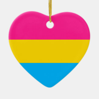 """PANSEXUAL PRIDE FLAG"" CHRISTMAS ORNAMENT"