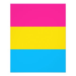 """PANSEXUAL PRIDE FLAG"" FLYER"