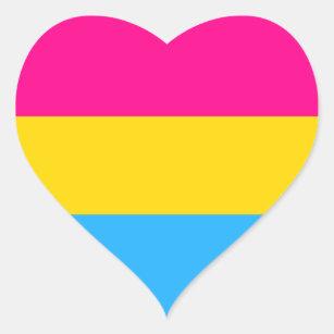 Pansexual flag sticker