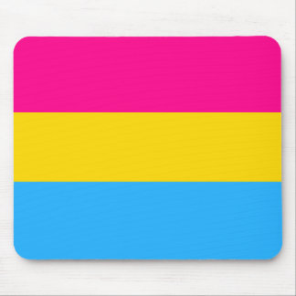 """""""PANSEXUAL PRIDE FLAG"""" MOUSE PAD"""