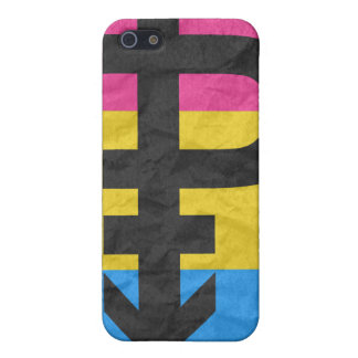 PANSEXUAL PRIDE FLAG STRIPES DESIGN COVER FOR iPhone 5/5S