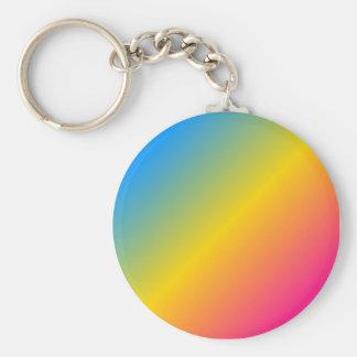 Pansexual Pride keychain - gradient
