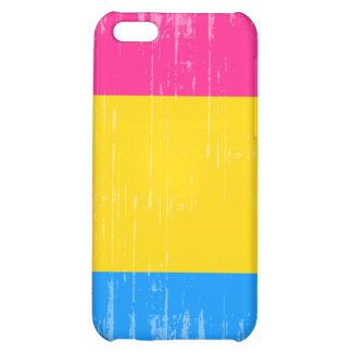 PANSEXUAL PRIDE STRIPES DISTRESSED DESIGN COVER FOR iPhone 5C