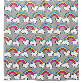 Pansexual | Rainbow Design | Shower Curtain