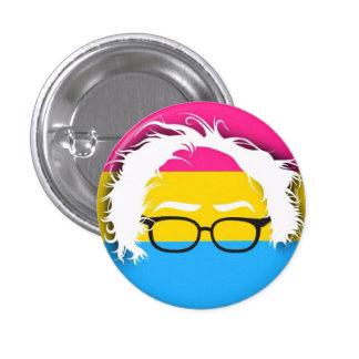 Pansexuals for Bernie Sanders 3 Cm Round Badge