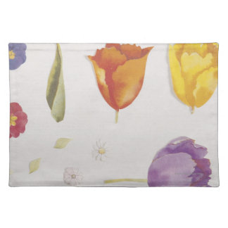 Pansies and Tulips Placemat