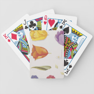 Pansies and Tulips Poker Deck