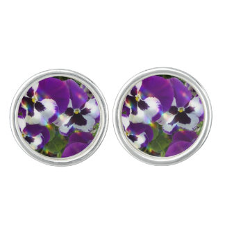 Pansies Cufflinks