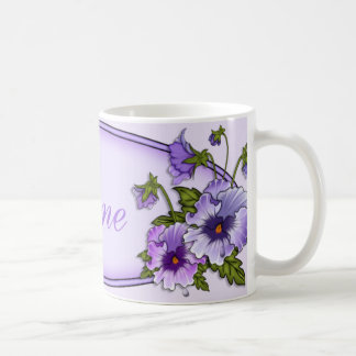 Pansies for Anne Coffee Mug