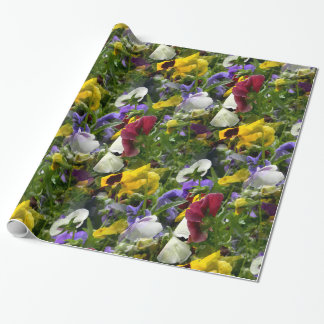 Pansies Forever... Wrapping Paper