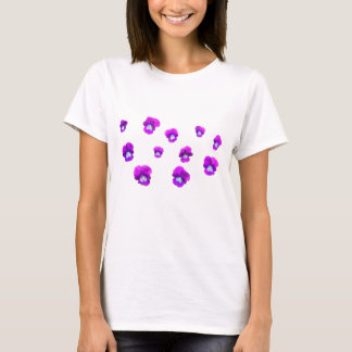 Pansies many flowers T-Shirt
