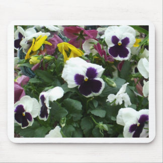 Pansies Mouse Mat