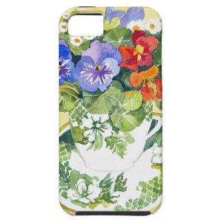 Pansies - nasturtiums 2013 iPhone 5 cover
