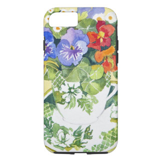 Pansies - nasturtiums 2013 iPhone 7 case