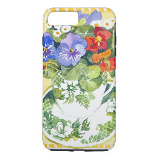Pansies - nasturtiums 2013 iPhone 7 plus case