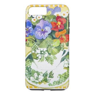 Pansies - nasturtiums 2013 iPhone 8 plus/7 plus case
