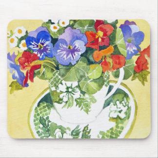 Pansies - nasturtiums 2013 mouse mat