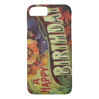 Pansies Pansy Rainbow Flowers Floral iPhone 7 Case