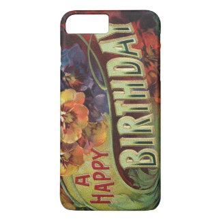 Pansies Pansy Rainbow Flowers Floral iPhone 7 Plus Case