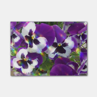 Pansies Post-it® Notes